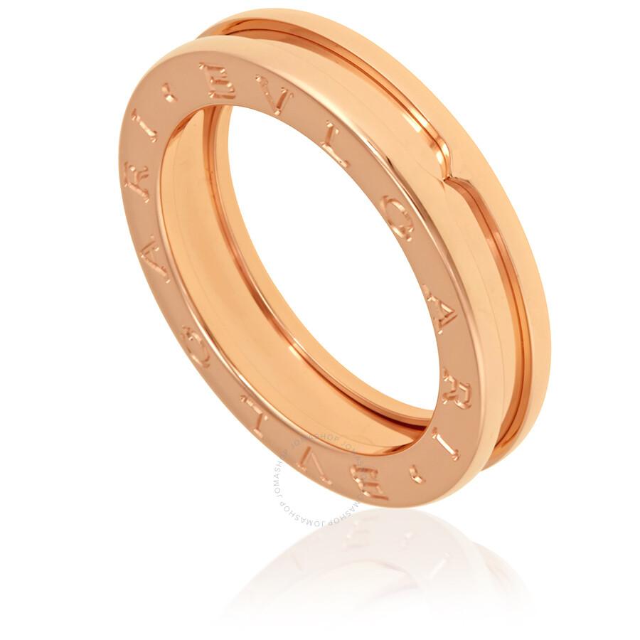 ade07fd8f Bvlgari B.Zero1 18k Rose Gold 1-Band Ring AN852422 - Bvlgari ...