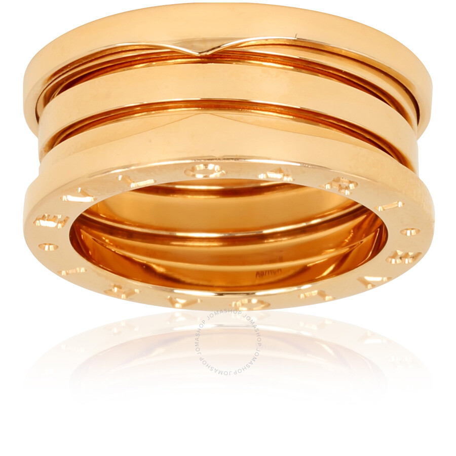 956e4258b Bvlgari B.Zero1 18K Rose Gold 3-Band Ring Size 6.25 - Bvlgari ...