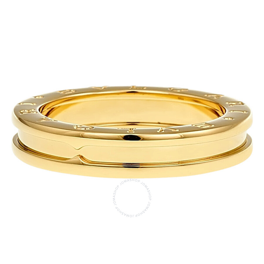 bvlgari bzero1 18k yellow gold 1band ring an852260