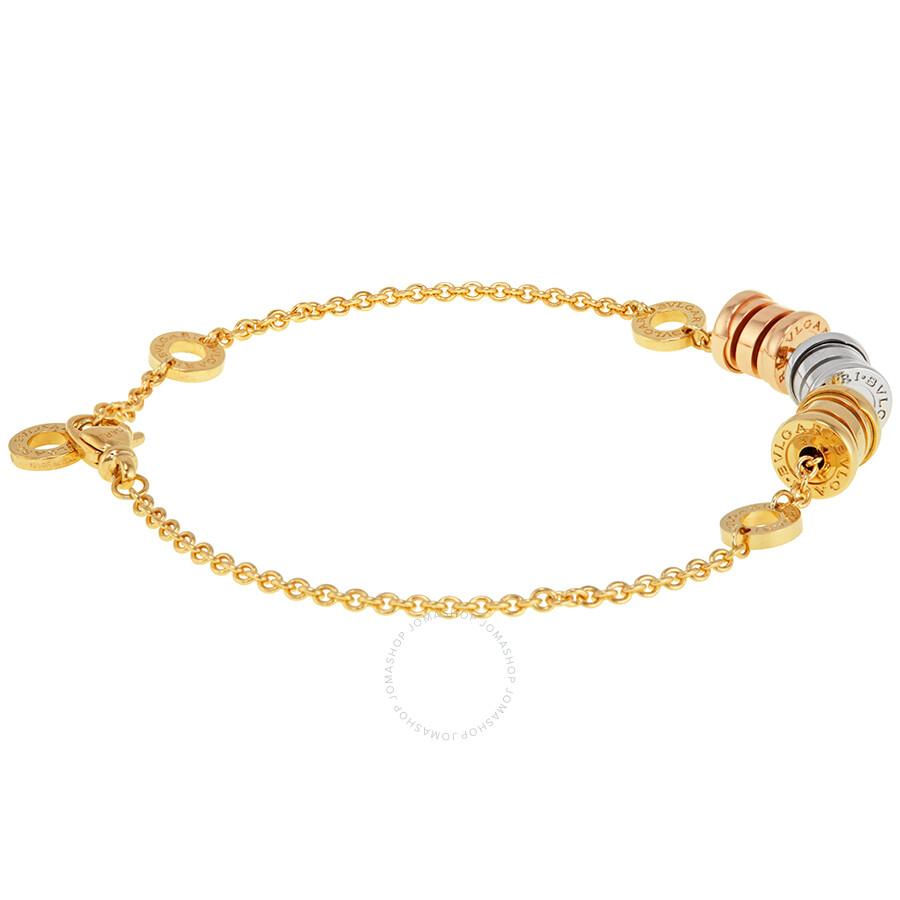 f7847f1c51626 Bvlgari B.Zero1 18K Yellow Gold Bracelet 340667 - Bvlgari - Ladies ...