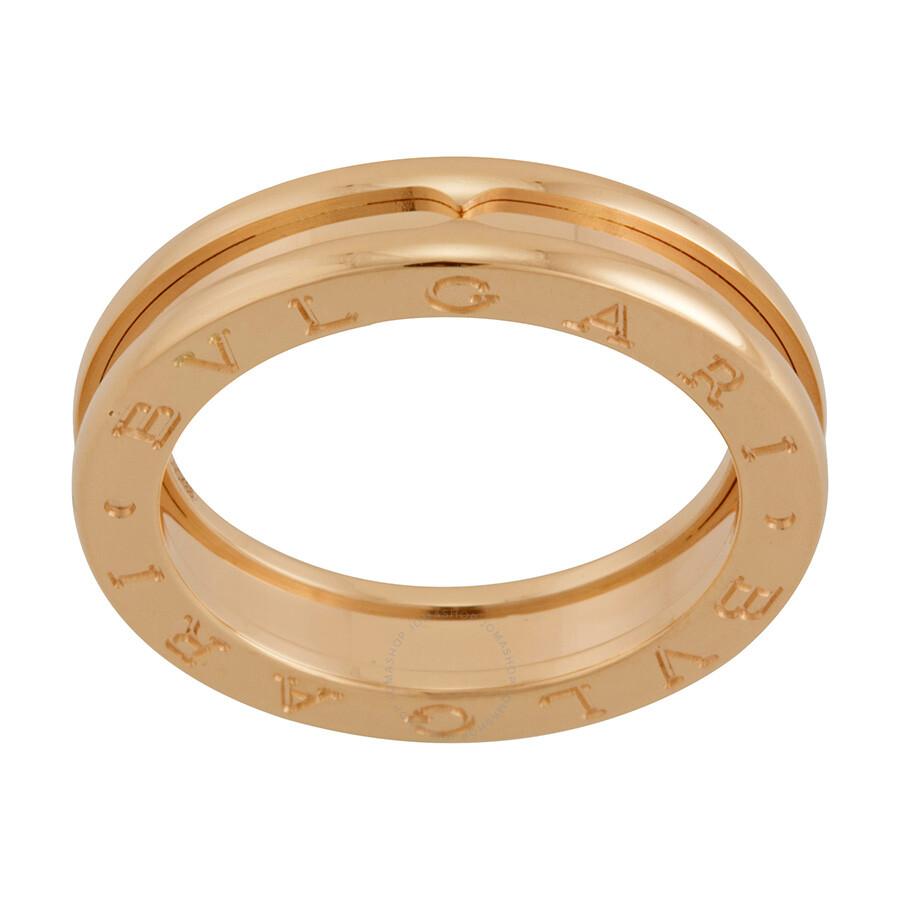 Bvlgari B.zero1 18kt Pink Gold Ring Size 57 - Bvlgari - Ladies ...