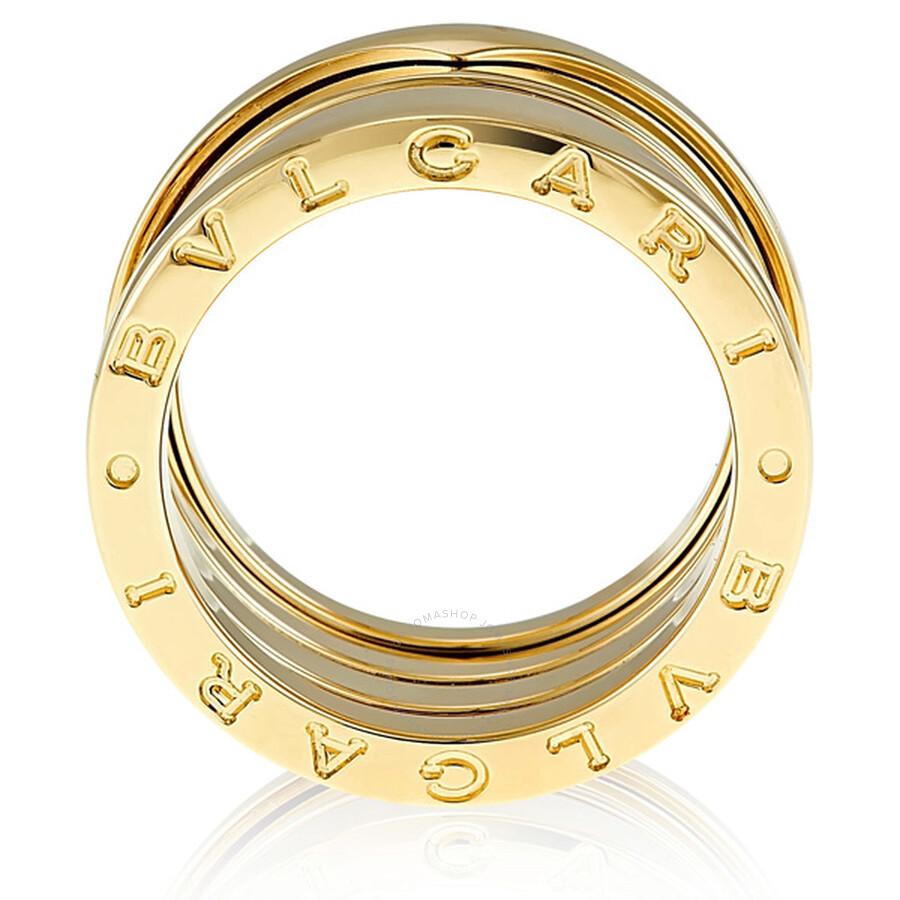 bvlgari bzero1 4band 18k yellow gold ring