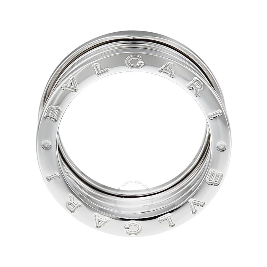 Bvlgari Bzero1 5 Band 18k White Gold Ring 323582