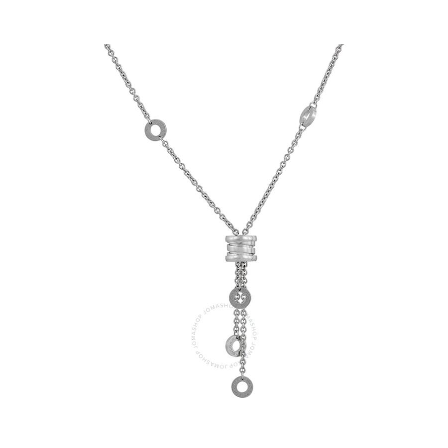 e9f3d548963a7 Bvlgari B Zero1 Pendant Necklace In 18kt White Gold Cl853896