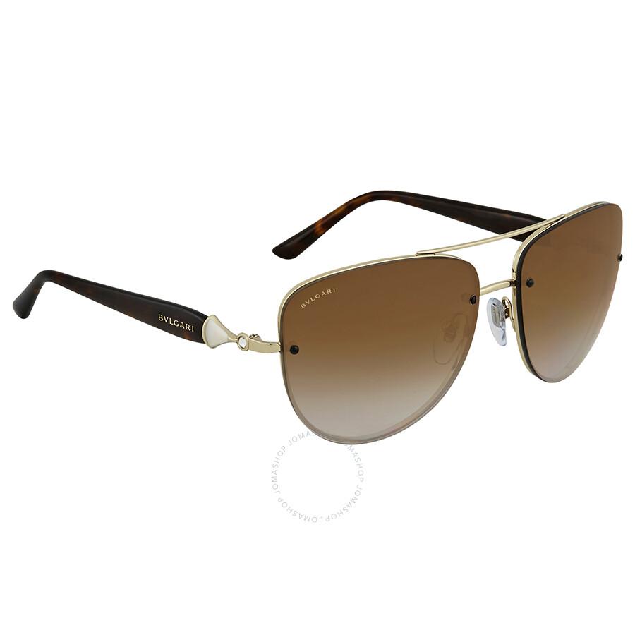 9f62faf2e27c5 Bvlgari Brown Gradient Square Sunglasses BV6086B 278 T5 60 - Bvlgari ...