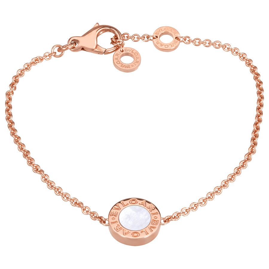 Bvlgari 18k Rose Gold Bracelet Small Medium