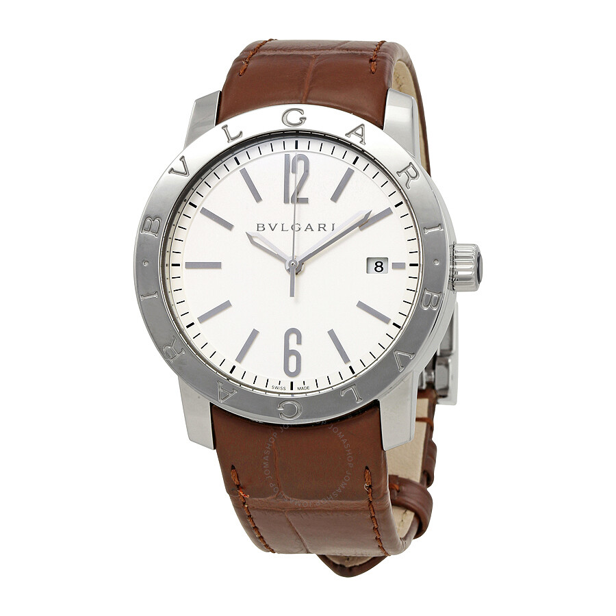 Bvlgari bvlgari automatic men 39 s watch 102111 bvlgari bvlgari bvlgari watches jomashop for Bvlgari watches