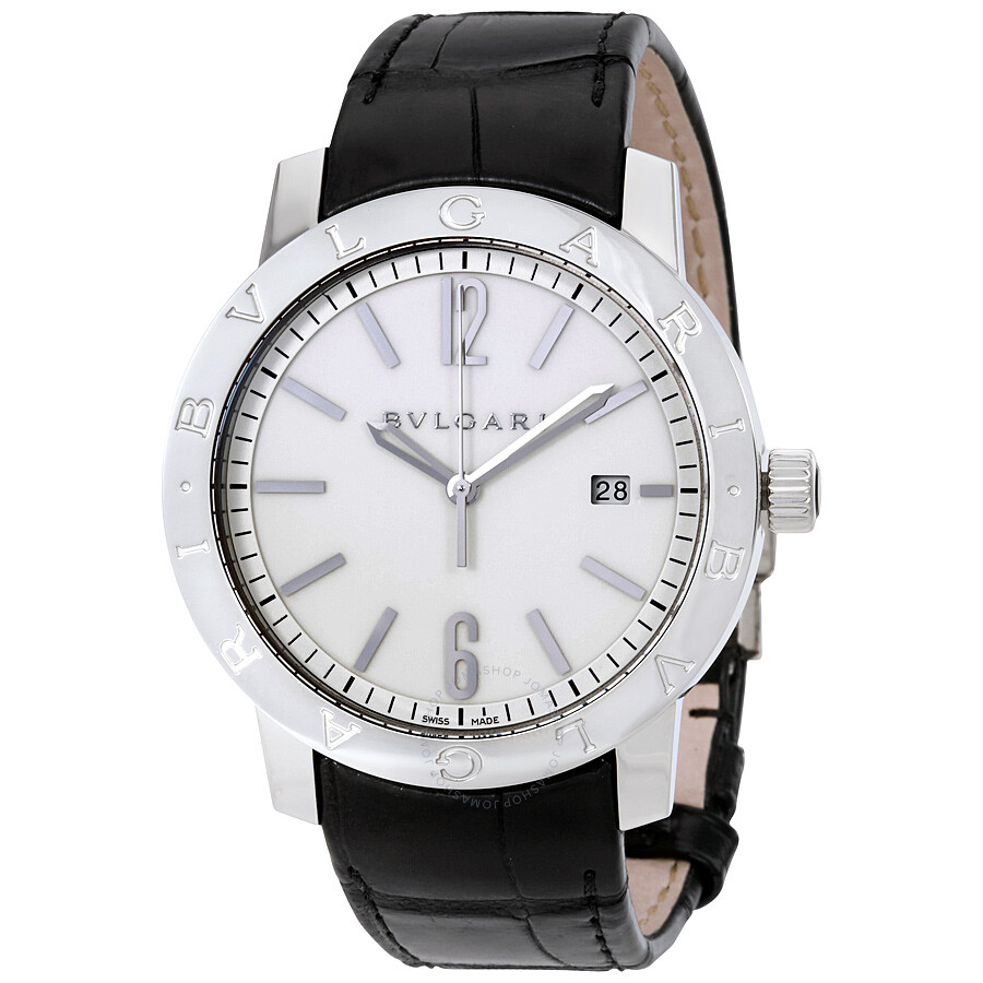 Bvlgari bvlgari automatic off white dial men 39 s watch 102056 bvlgari bvlgari bvlgari for Bvlgari watches