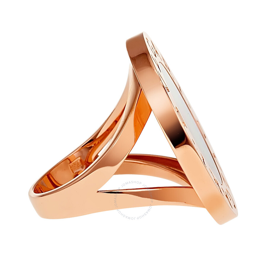 mother of pearl 18k rose gold ring an855961 size 6
