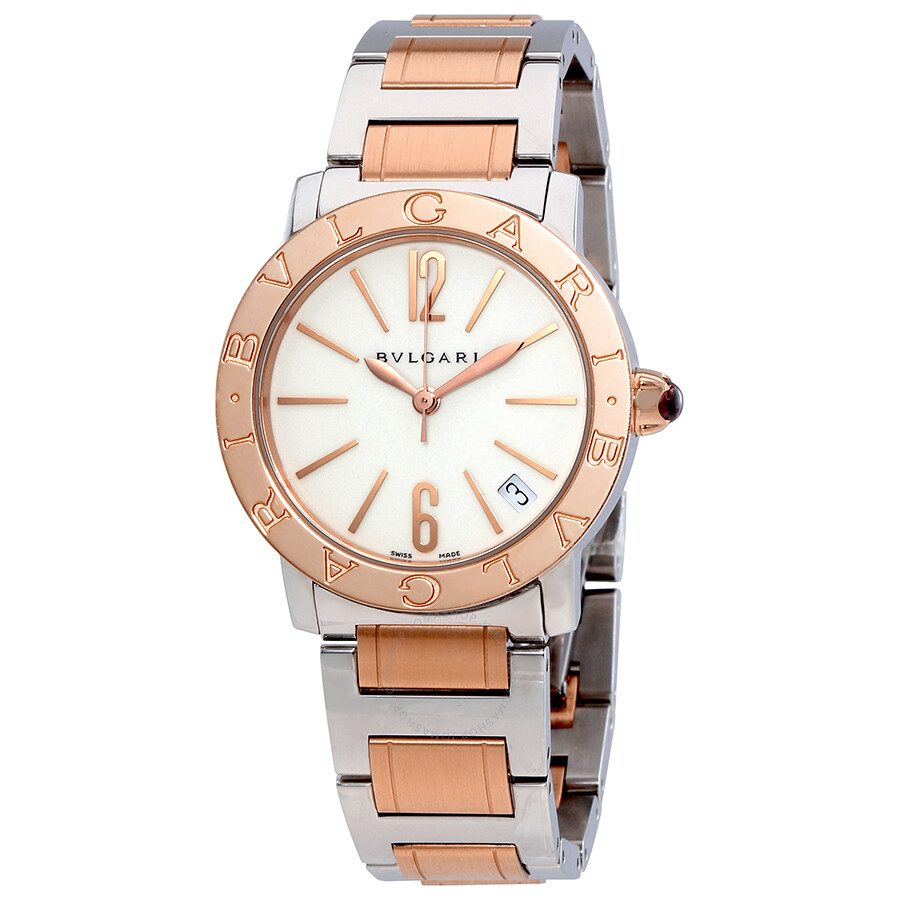 Bvlgari bvlgari white lacquered dial autiomatic ladies watch 102071 bvlgari bvlgari bvlgari for Bvlgari watches