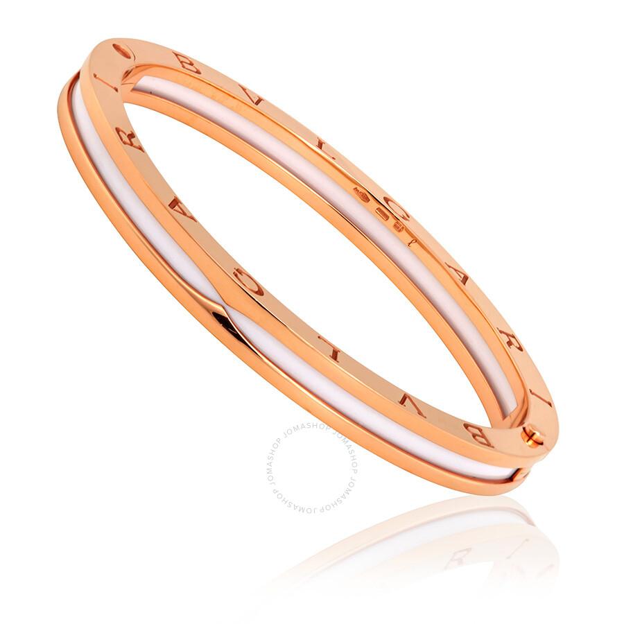 Bvlgari B Zero1 18k Rose Gold Bracelet 347489