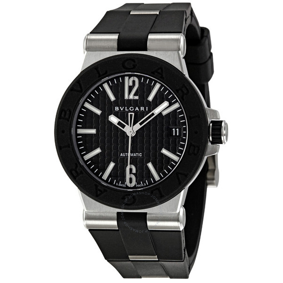 Bvlgari diagono automatic watch dg35bsvd diagono bvlgari watches jomashop for Bvlgari watches