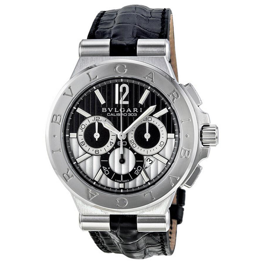 a565c399015 Bvlgari Diagono Calibro 303 Chronograph Automatic Men s Watch DG42BSLDCH  Item No. 101881
