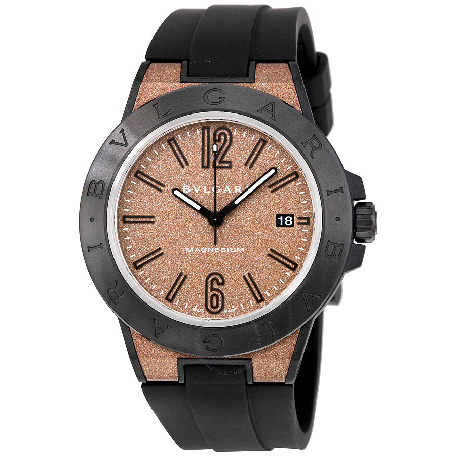 Bvlgari diagono magnesium automatic brown dial men 39 s watch 102306 diagono bvlgari watches for Bvlgari watches