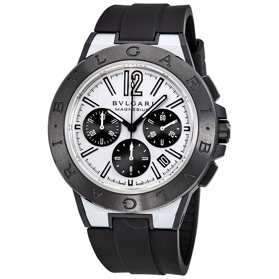 Bvlgari diagono magnesium automatic chronograph men 39 s watch 102305 diagono bvlgari watches for Bvlgari watches