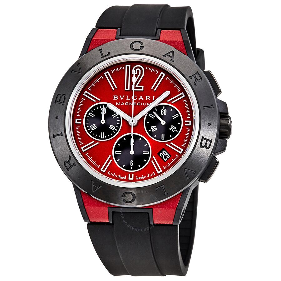 2590235a25e Bvlgari Diagono Magnesium Automatic Chronograph Men s Watch