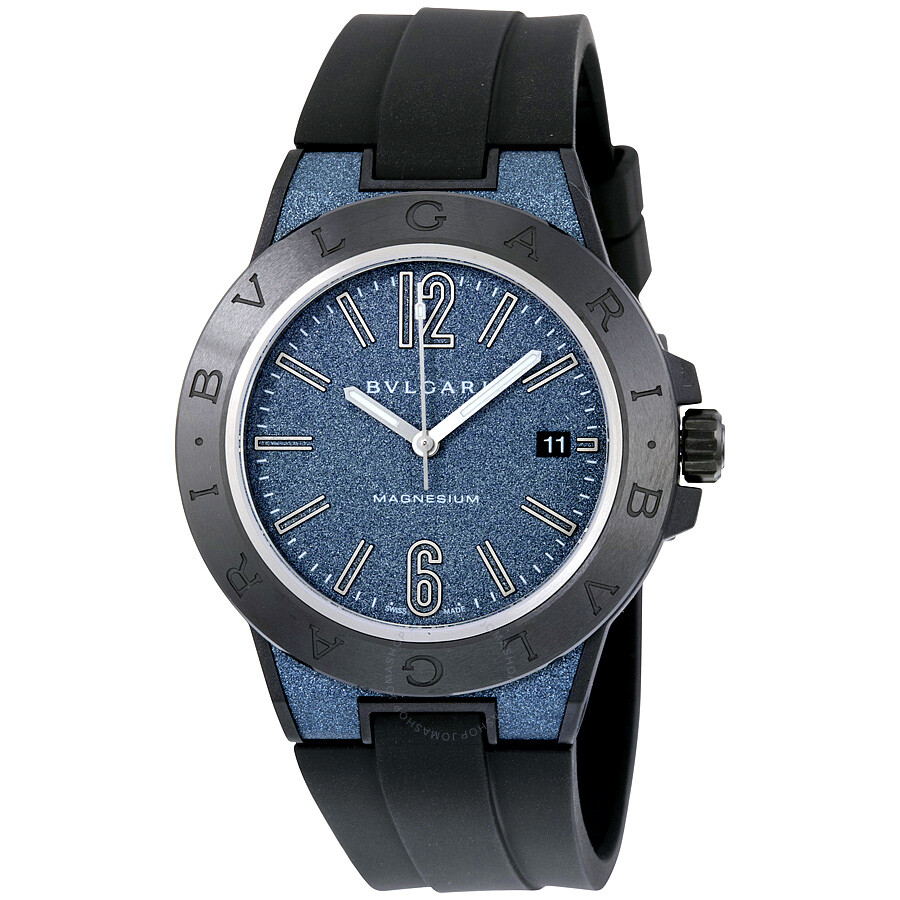 Bvlgari diagono magnesium automatic men 39 s watch 102364 diagono bvlgari watches jomashop for Bvlgari watches
