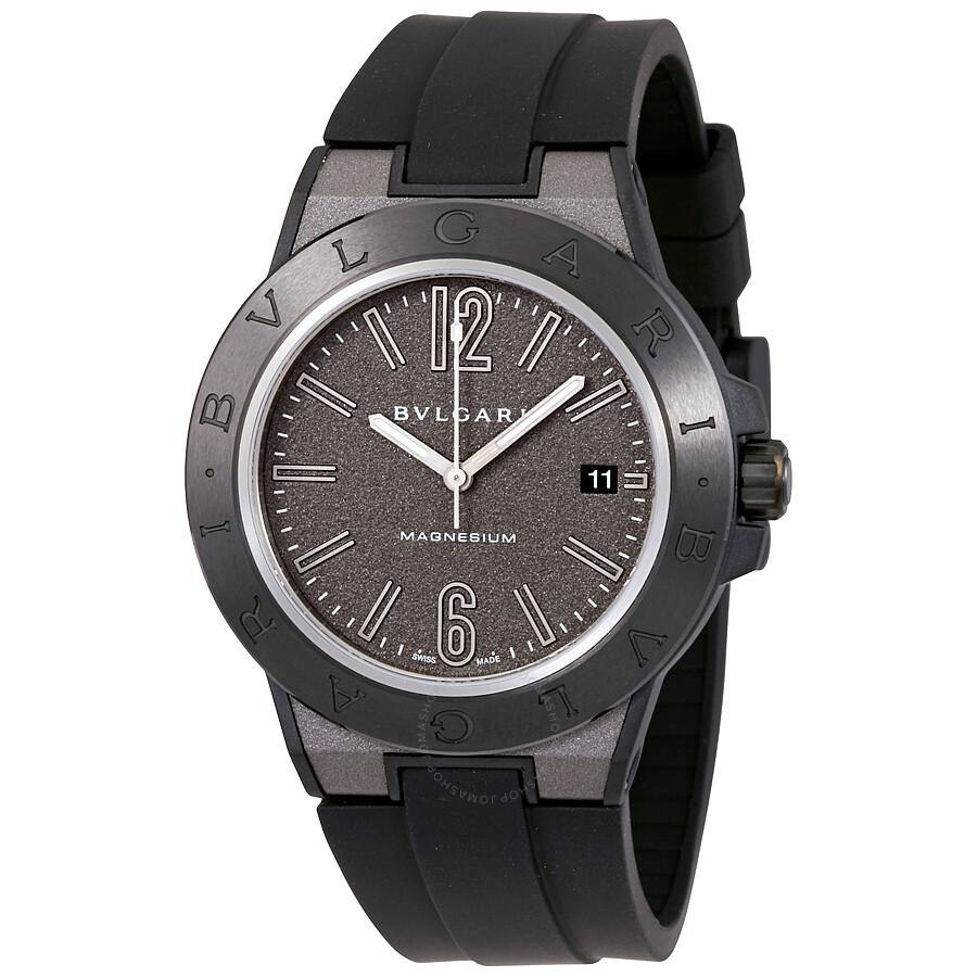 Bvlgari diagono magnesium automatic men 39 s watch 102307 diagono bvlgari watches jomashop for Bvlgari watches