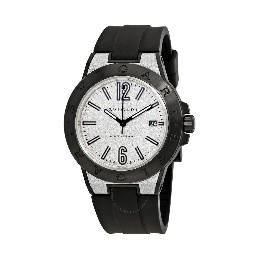 Bvlgari diagono magnesium automatic men 39 s watch 102427 diagono bvlgari watches jomashop for Bvlgari watches
