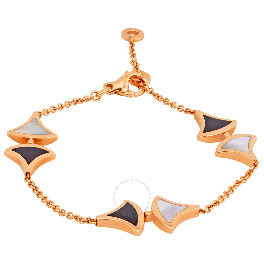 24f0654770 Bvlgari Divas Dream 18K Pink Gold Ladies Bracelet 350073 - Bvlgari ...