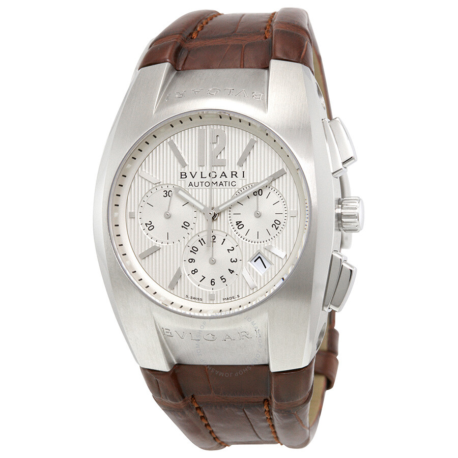 Bvlgari ergon chronograph automatic men 39 s quartz watch eg406sldch bvlgari watches jomashop for Bvlgari watches