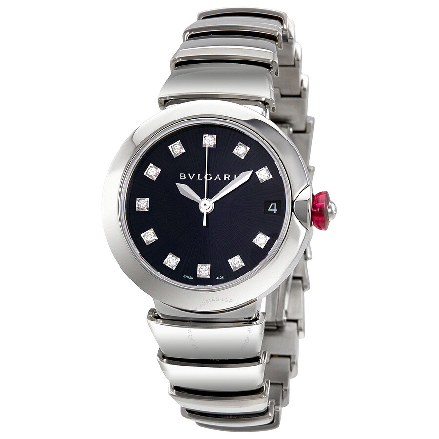 Bvlgari lvcea automatic ladies watch 102564 lvcea bvlgari watches jomashop for Bvlgari watches