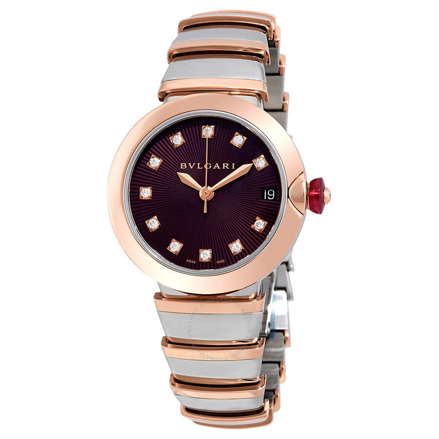 Bvlgari lvcea automatic ladies watch 102497 lvcea bvlgari watches jomashop for Bvlgari watches