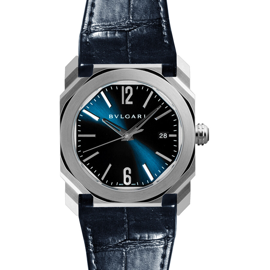 Bvlgari Octo Solotempo Blue Dial Automatic Men's Watch