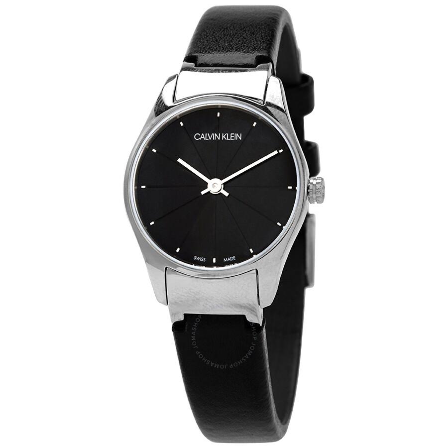 Classic Quartz Black Dial Ladies Watch K4D231CY