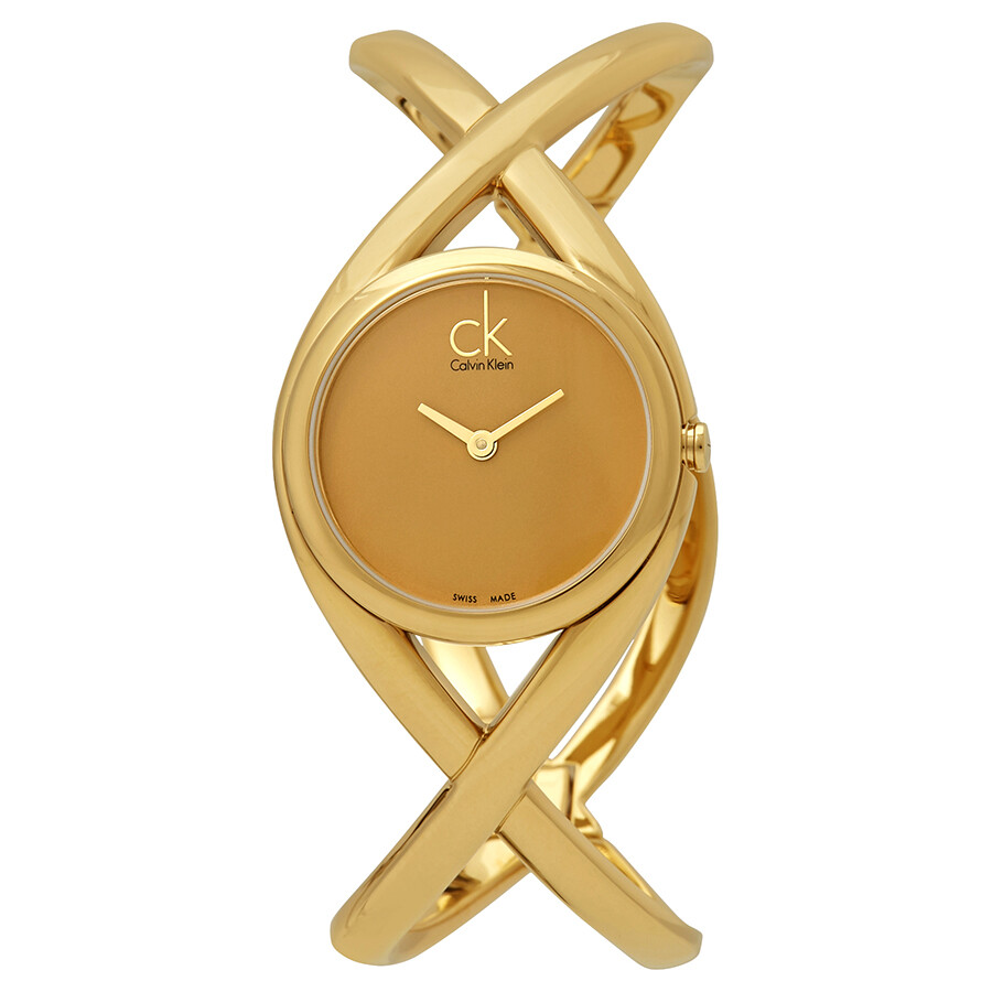calvin klein enlace gold k2l23509