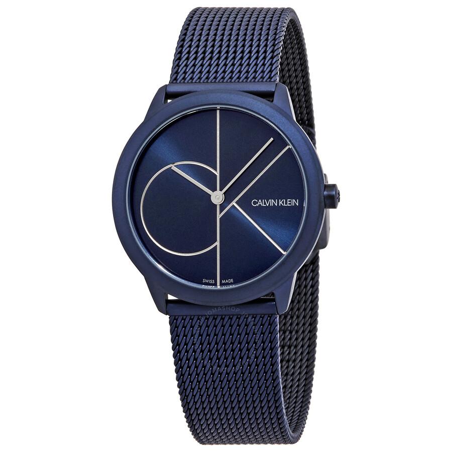 Minimal Quartz Blue Dial Ladies Watch K3M52T5N
