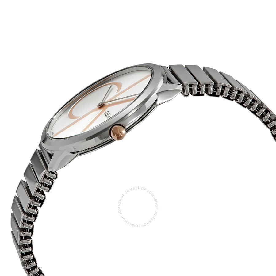 5abf04b02e5 Calvin Klein Minimal Silver Dial Men's Watch K3M21BZ6 - Calvin Klein ...