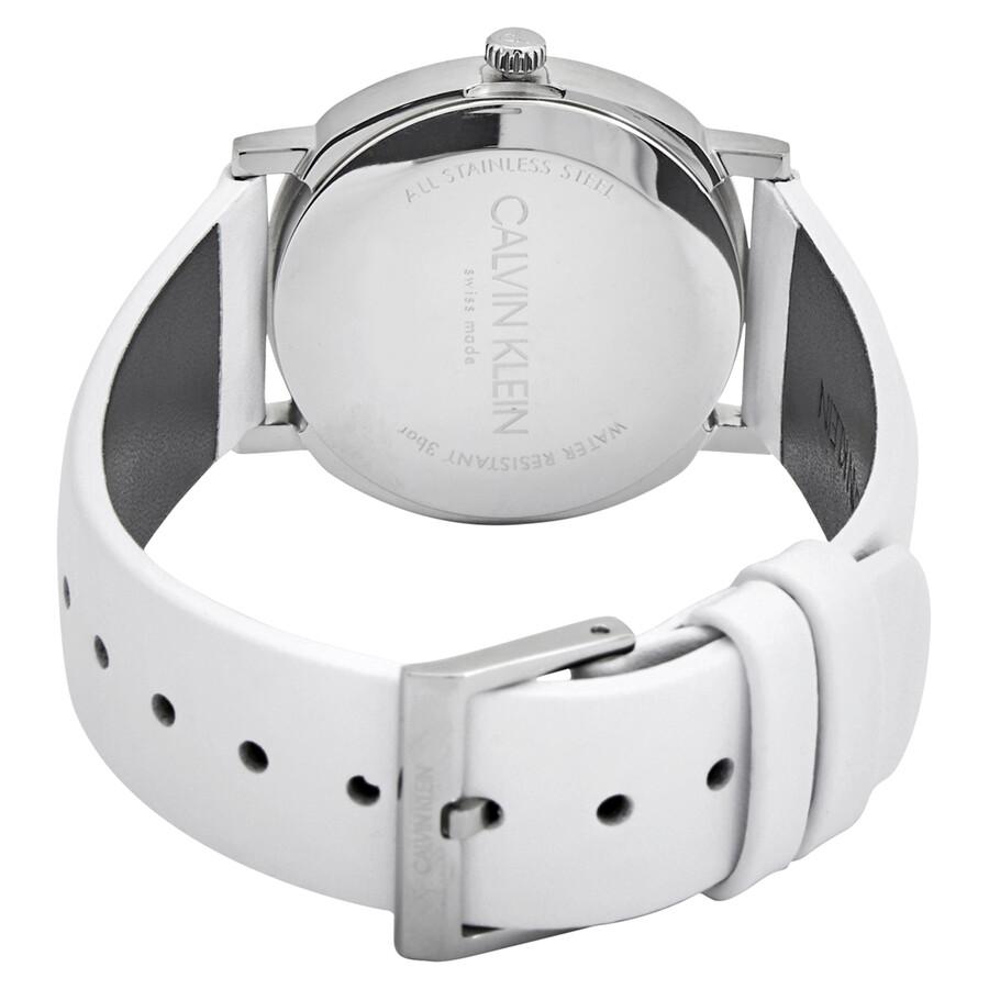 Posh Quartz White Dial Ladies Watch K8Q331L2