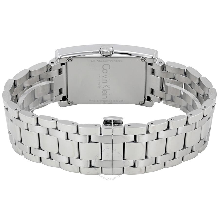 047851911b71 Calvin Klein Refine Silver Dial Stainless Steel Men s Watch K4P21146 ...