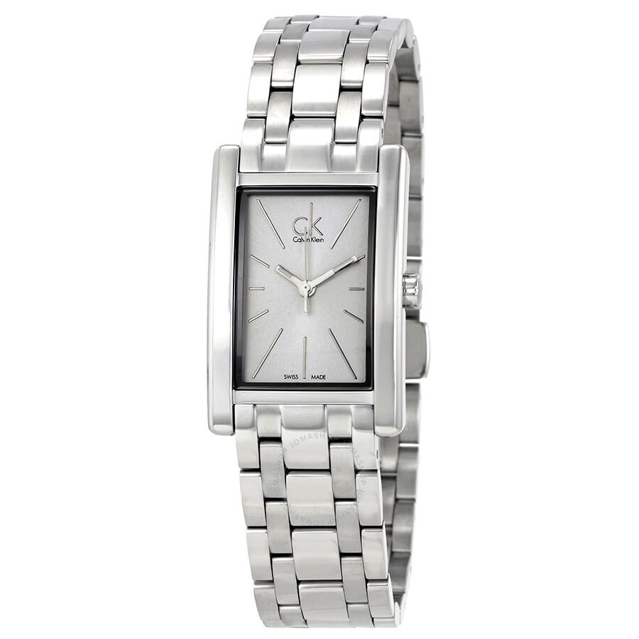 0dfb47035893 Calvin Klein Refine White Dial Stainless Steel Ladies Watch K4P23146 ...