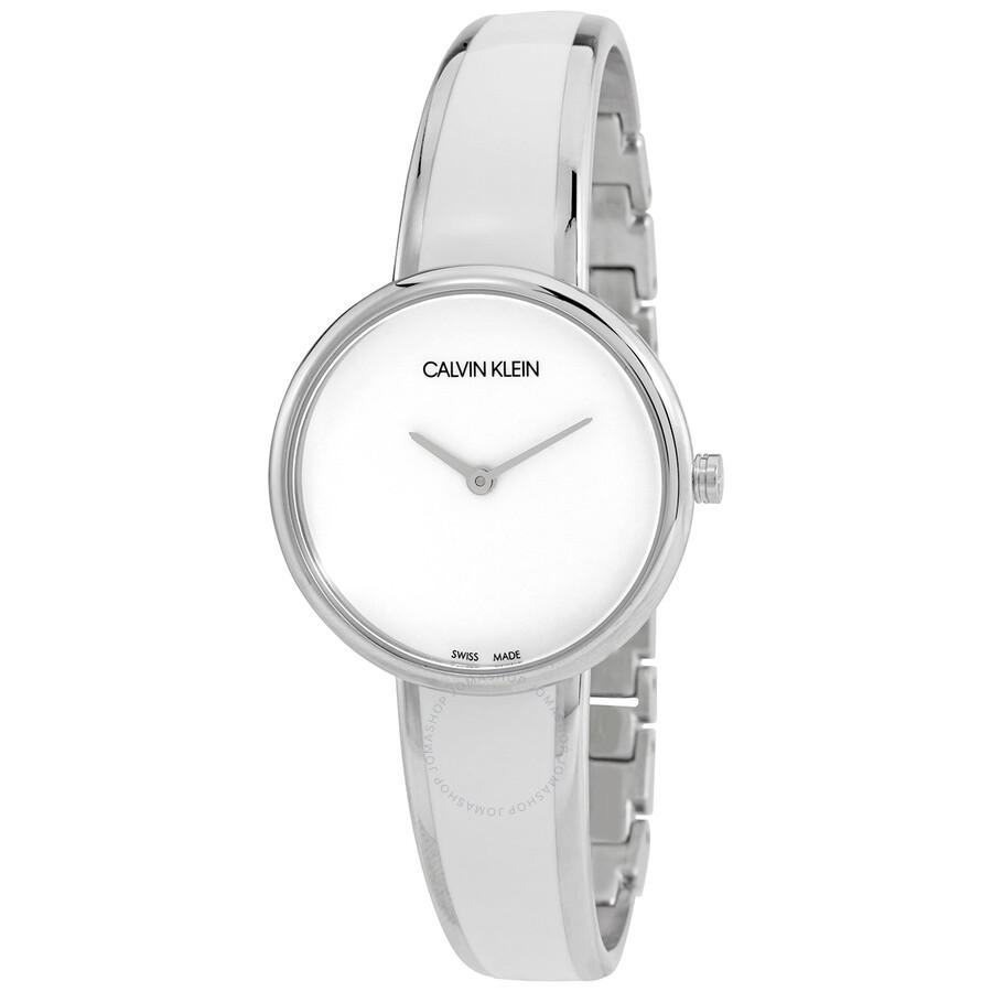 Seduce Quartz White Dial Ladies Watch K4E2N116