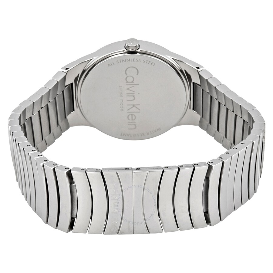Whirl Black Dial Stainless Steel Ladies Watch K8A23141