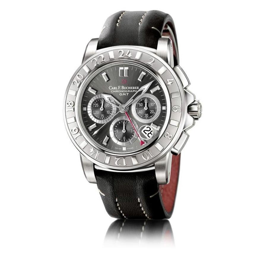 carl f bucherer patravi chronograph automatic men 39 s watch. Black Bedroom Furniture Sets. Home Design Ideas