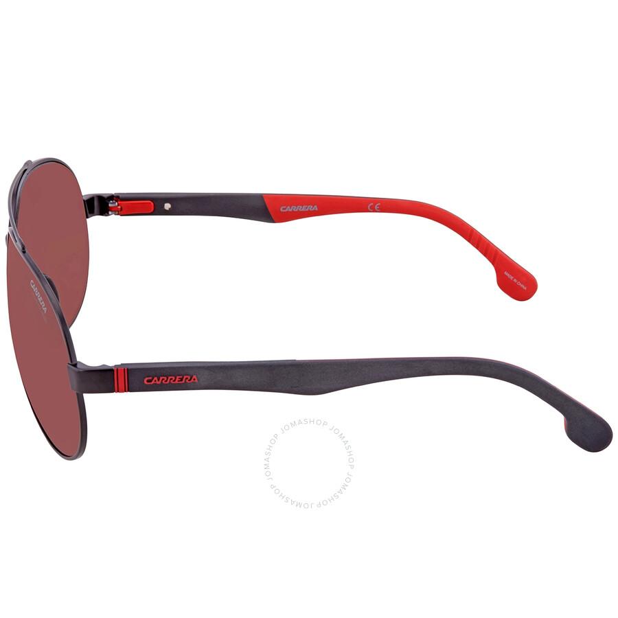 CARRERA 8022//S ODL5 BLACK 56-16-140 POLARIZED Sunglasses BOX/&CLOTH