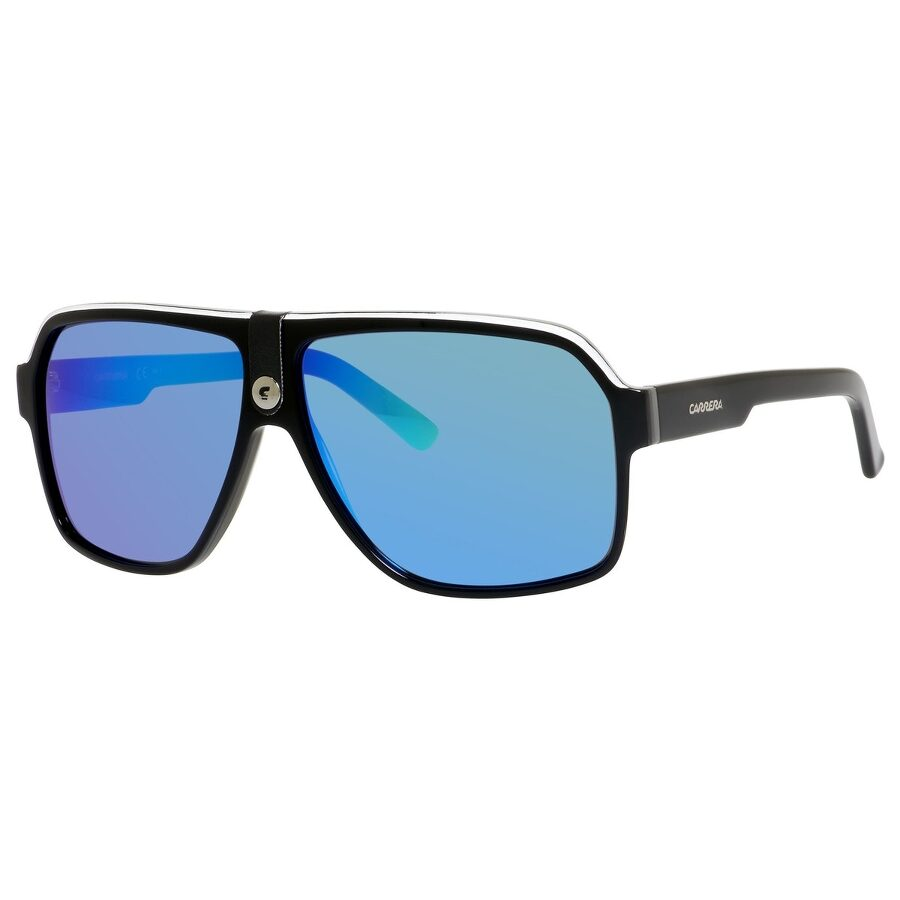0b6f27b9a8fe Carrera Blue Mirror Polarized Aviator Sunglasses CARRERA 33/S 08V6 62 Item  No. CARRERA 33/S 08V6 62