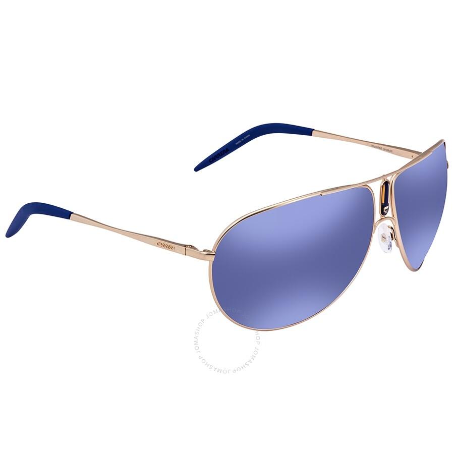 2e269bdc Carrera Blue Sky Mirror Aviator Sunglasses GIPSY/S AOZ 64 - Carrera ...