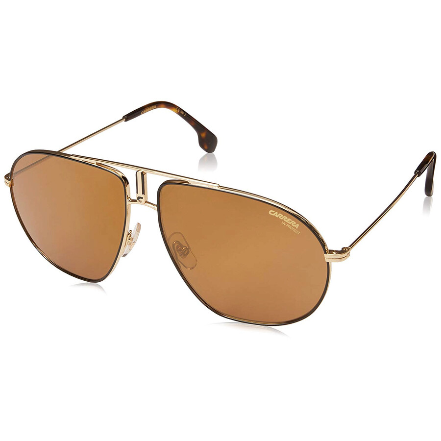 d64a2165 Carrera Brown Gold Sp Aviator Unisex Sunglasses CARRERA BOUND RHL Item No.  CARRERA BOUND RHL 62