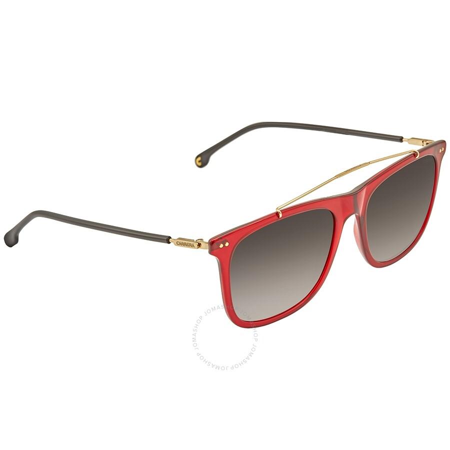 1b0418e5d389 Carrera Brown Gradient Polarized Rectangular Men's Sunglasses CARRERA 150/S  LHF 55 Item No. CARRERA 150/S LHF 55
