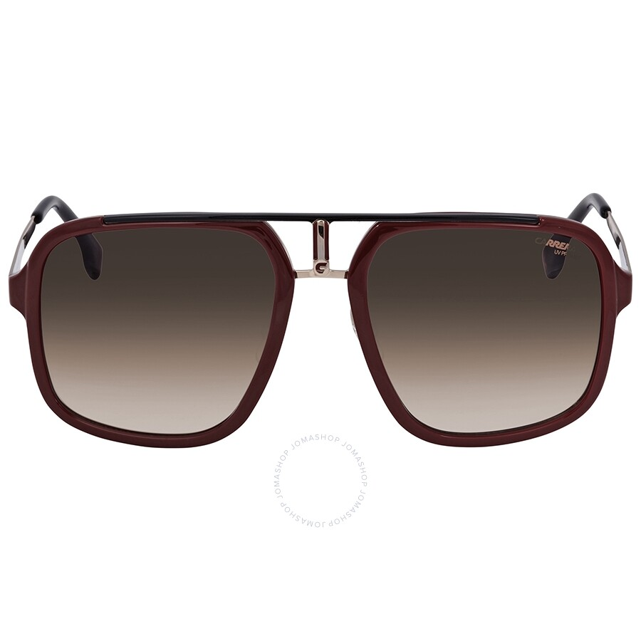 88ea1b7fad33 ... Carrera Brown Gradient Rectangular Sunglasses CARRERA 1004/S AU2 57 ...