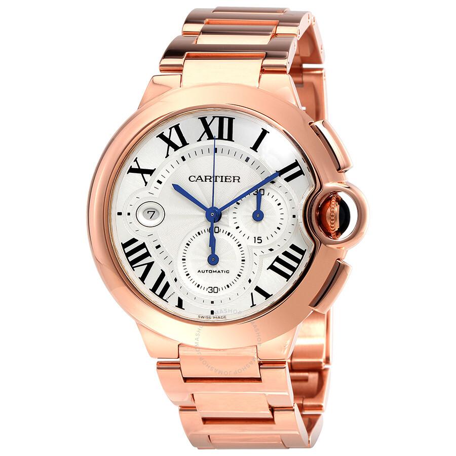 Cartier Ballon Bleu 18kt Rose Gold Chronograph Men s Watch W6920010 ... 721e85d40