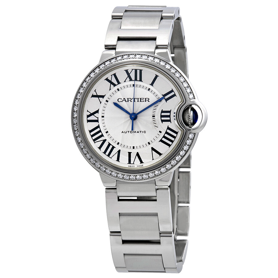 Cartier Ballon Bleu Automatic Ladies Diamond Watch W4BB0017 - Ballon ... 35a17fc63acd