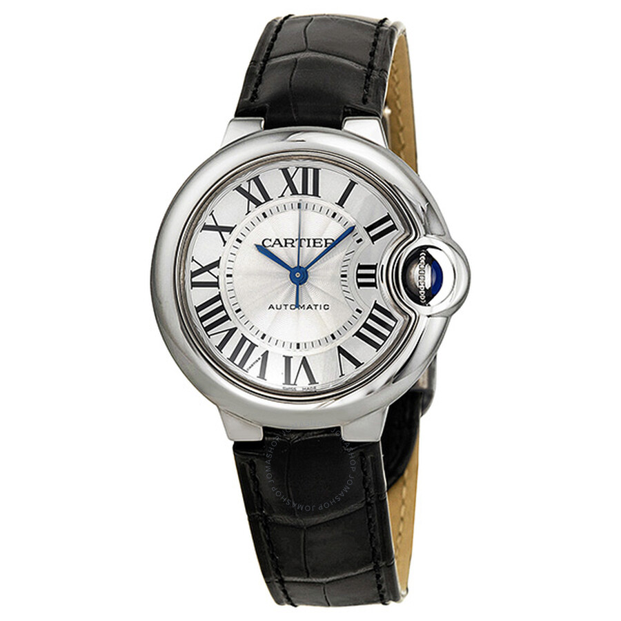 b74774746338 Cartier Ballon Bleu Automatic Silver Dial Ladies Watch W6920085 ...