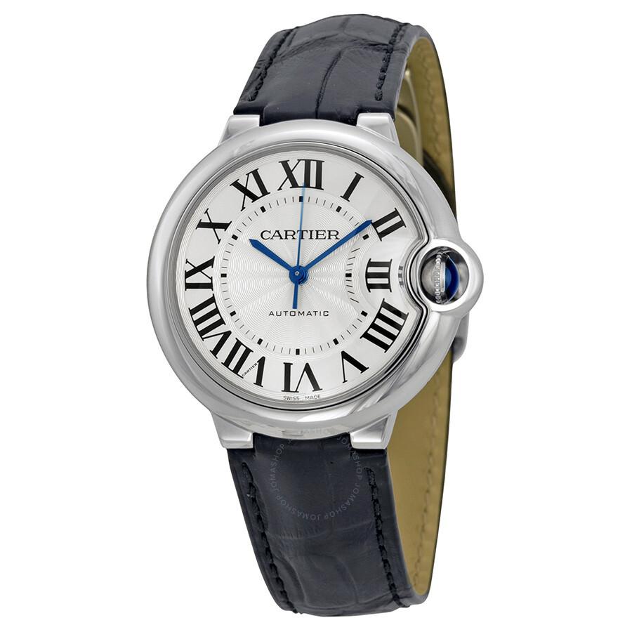 Cartier Ballon Bleu Automatic Silver Dial Ladies Watch ...