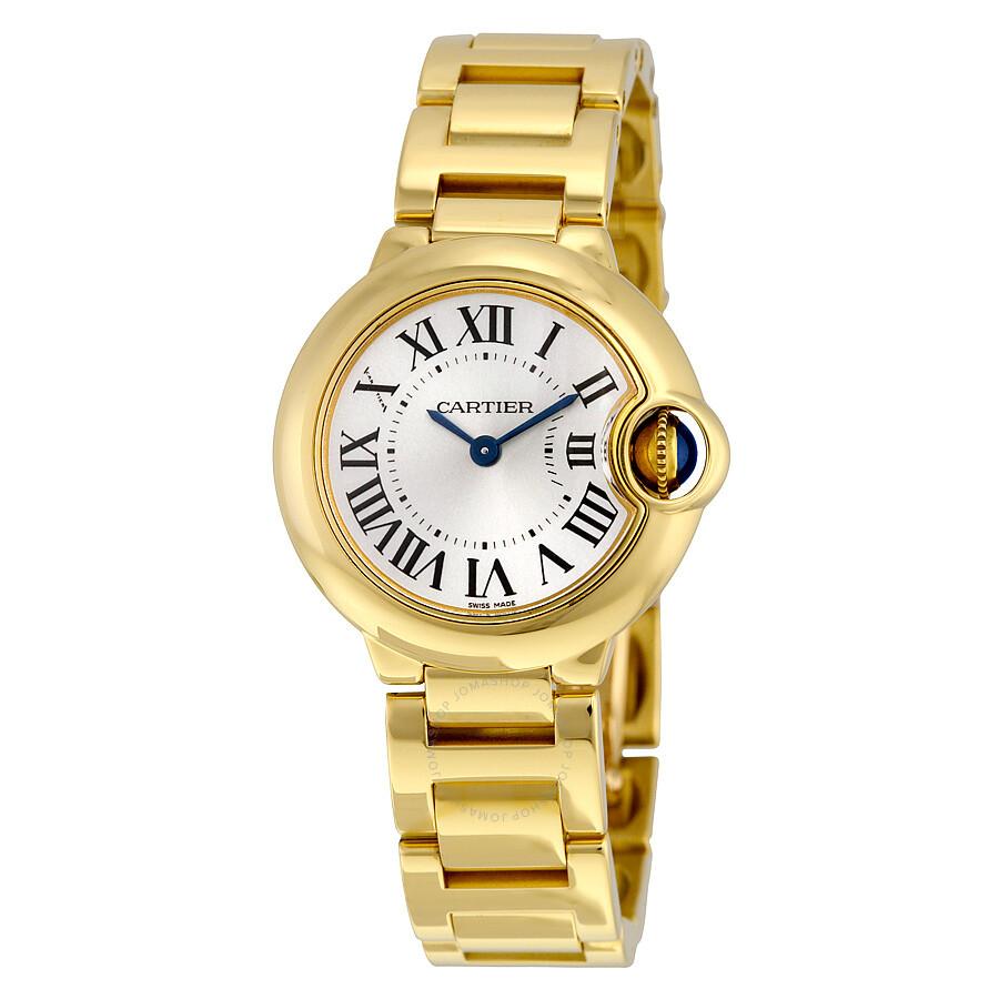 0576c587c7672 Cartier Ballon Bleu de Cartier 18k Yellow Gold Small Watch W69001Z2 ...