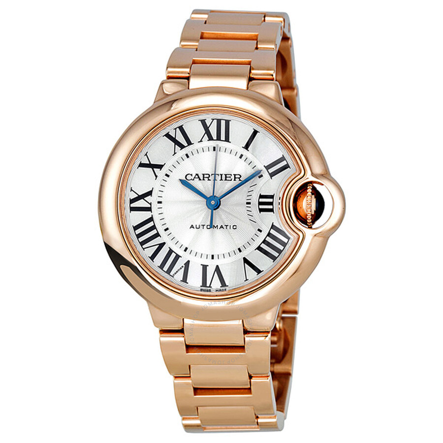 Cartier Ballon Bleu de Cartier 18kt Pink Gold 33mm Watch W6920068 ... 2884b14b8345